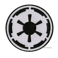 Licensed cool NEW STAR WARS MOVIE IMPERIAL EMBLEM LOGO Embroidered  IRON ON Patch Badge