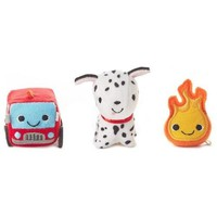 Happy Go Luckys Limited Edition Firehouse Stuffed Animals, Set of 3
