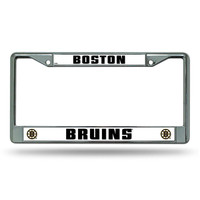 Boston Bruins NHL Chrome License Plate Frame