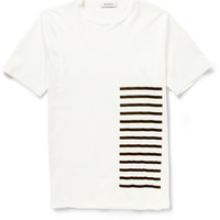 Tim Coppens - Mesh and Cotton-Jersey T-Shirt   MR PORTER