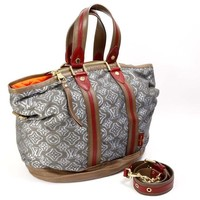 Free Shipping Pre-owned Louis Vuitton 2WAYToteBag 2010 Prefall Collection M40385