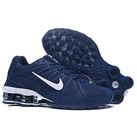 Nike Shox Current Woman Men Fashion Breathable Sneakers Sport Shoes-7