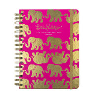 2016-2017 Lilly Pulitzer 17 Month Large Agenda - Tusk In Sun - Ryan's Daughters