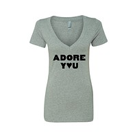 "Harry Styles ""Adore You"" V-Neck T-Shirt"