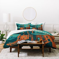 Anderson Design Group NYC Brooklyn Duvet Cover