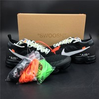 2017 OFF WHITE x Nike Air VaporMax 10 AA3831 Size 36-45