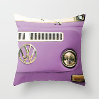 Summer of Love - Radiant Orchid Throw Pillow by Olivia Joy StClaire