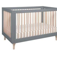 ICIK1IN babyletto lolly 3 in 1 convertible crib with toddler bed conversion kit gray washed n