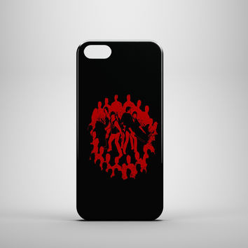 WALKING DEAD SURROUNDED Custom Case for iPhone 6 6 Plus iPhone 5 5s 5c GalaxyS 3 4 & 5 6 and Note 3 4 5