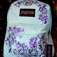 Hand Painted Crystal Jansport Backpack