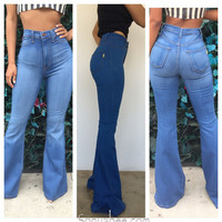 Bell Bottom Jeans - Sonya Bee's Boutique