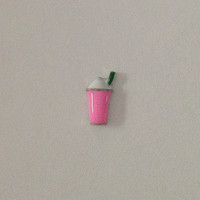 Floating charms for living memory lockets - strawberry frappuccino