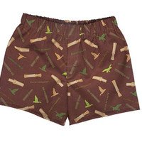 "Duck Dynasty Boy ""cotton"" Duck Call Boxers, Boxers, Duck Dynasty Pajamas Shorts"
