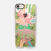 Wild and Free iPhone 7 Case by Vasare Nar | Casetify