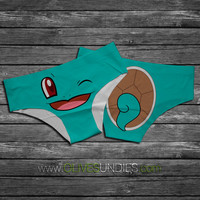 Squirtle Pokemon Panties