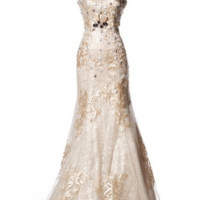 KCW1510 Light Gold Mermaid Wedding Dress by Kari Chang Eternal