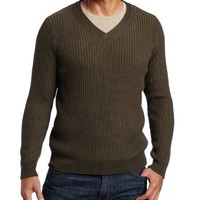 Alex Stevens Men's Ribbed V-neck Sweater