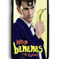Doctor Who Lets Go Bananas for Samsung Galaxy S4 Hard Cover Plastic