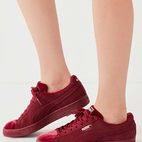 Puma Suede Classic Velvet Sneaker   Urban Outfitters