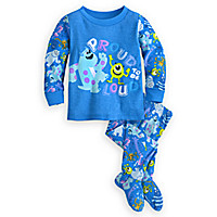 Monsters Inc. Footed PJ Pal for Baby