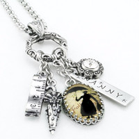 Mary Poppins Charm Necklace