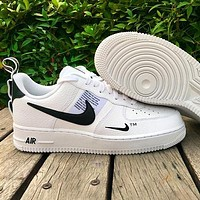 Nike Air Force 1 Classic Hot Sale Women Men Leisure Flat Sport Running Shoes Sneakers White-1