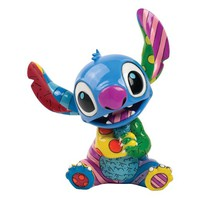 Enesco Disney by Britto Stitch by Britto Figurine, 7.625-Inch