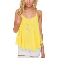 Nellie Top - Yellow