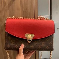 LV 2020 New Women's Wild Chain Bag Lock Shoulder Bag Crossbody Bag