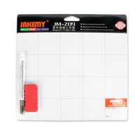 JAKEMY JM-Z09 Magnetic Project Mat Screw Work Pad with Marker Pen Eraser for Cell Phone Laptop Tablet iPhone Repair Tools Mat