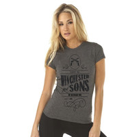 Carry on Winchester and Sons - My Wayward Son  - Supernatural Inspired - Women's Poly/Cotton T-Shirt
