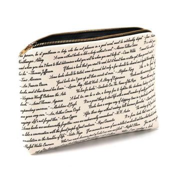 Commit to Lit Book Pouch