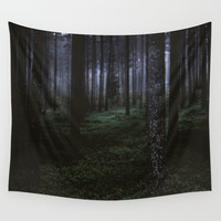 How deep will you go Wall Tapestry by HappyMelvin