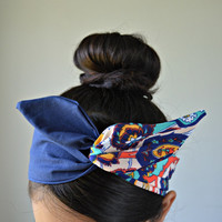 Dolly bow Headband, hair bow head band