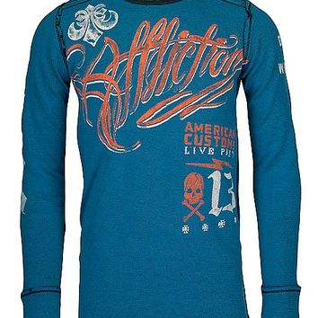 Affliction American Customs Scripted Thermal