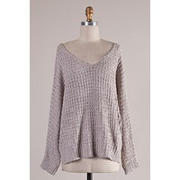 Easy Love Sweater (Taupe)