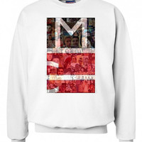 magcon logo unisex sweatshirt custom crewneck sweatshirt for unisex adult made by USA