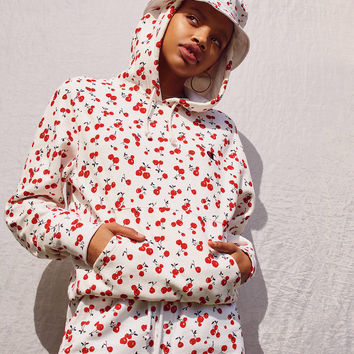 Champion + HVN for Urban Outfitters Cherry Hoodie Sweatshirt   Urban Outfitters