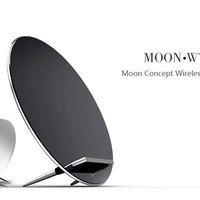 Moon Concept Multi-Point Wireless Charging Dock for iPhone, Nexus and more