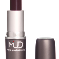 Mud Sheer EggplantLipstick with LA Fresh Makeup Remover