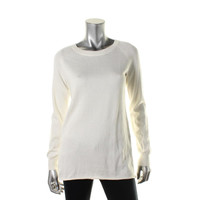 BCBGeneration Womens Knit Long Sleeves Pullover Sweater