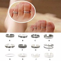 Assorted Toe Rings