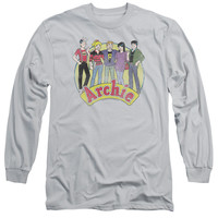 ARCHIE COMICS/THE GANG - L/S ADULT 18/1 - SILVER -