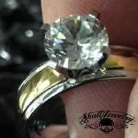 3 C's; Color, Clarity & Cut Ring (473)