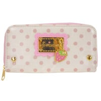 ONLINE SHOP - - SWIMMER Coated Long wallet / Strawberry N swaying