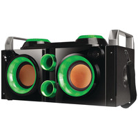Qfx Rechargeable Bluetooth Party Pa Boombox (green)