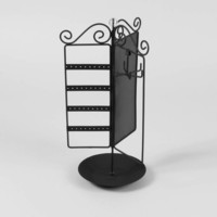 Spinning Armoire Jewelry Holder