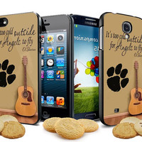 ed sheeran guitar and song quotes for iPhone 4, iPhone 4s, iPhone 5, Samsung Galaxy S3, Samsung Galaxy S4 Case