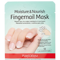 FOREVER 21 Purederm Fingernail Mask Green/White One