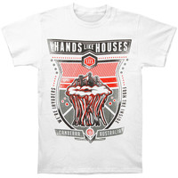 Hands Like Houses Men's  Jelly Fish T-shirt White Rockabilia